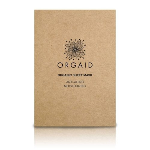 sheet mask, organic, orgaid, europe, masque visage bio, tissus