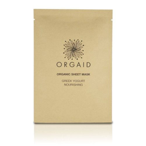 sheet mask, orgaid, nourish, glowy skin