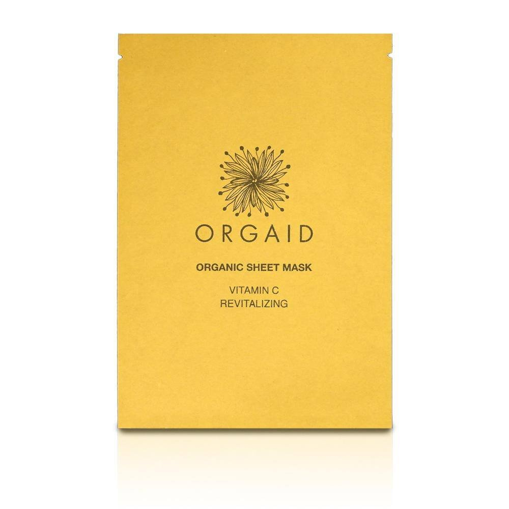 sheet mask, wellness, europe, orgaid, glowy skin
