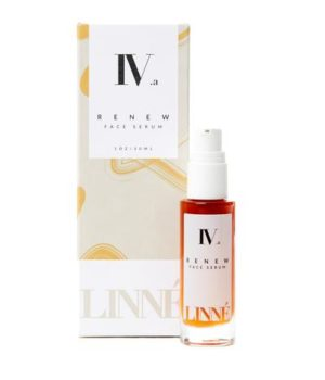 renew face serum, repair serum, organic, anti aging, linné botanicals