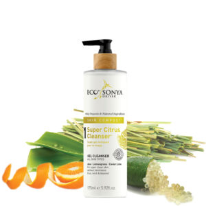 citrus cleanser, eco by sonya, organic tan, bronzed glow