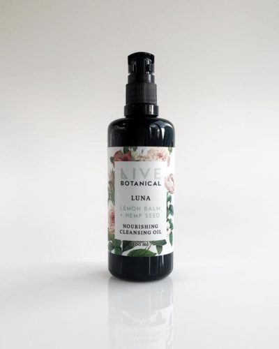 cleansing oil, live botanical, organic