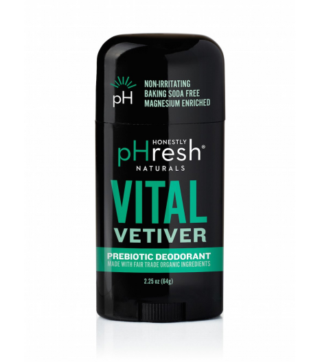 Vital Vetiver, honestly fresh man deodorant