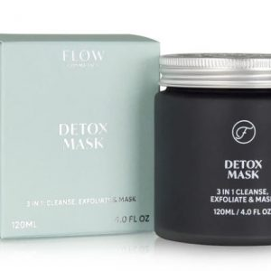 detox mask, flow cosmetics