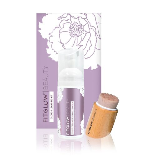 cloud cleansing kit, fitglow beauty