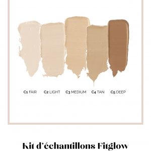 Fitglow Beauty, échantillons