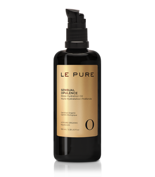 le pure, body oil