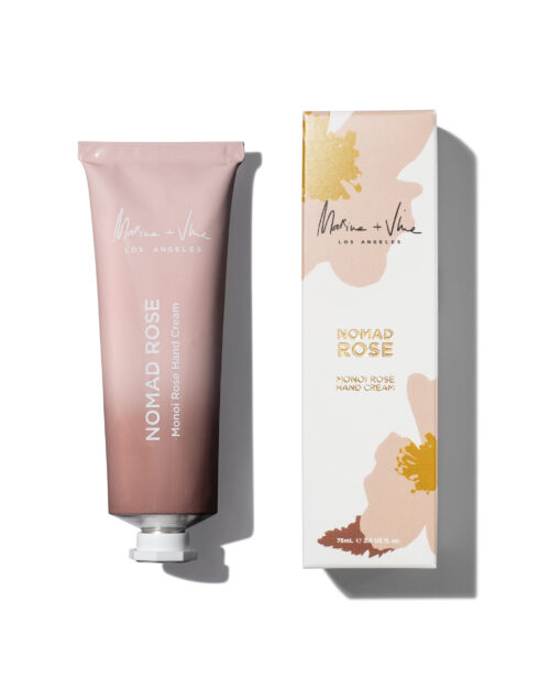 marine and vine, monoi, handcream